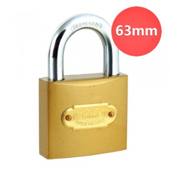 63mm Lemen Color Painted Iron Padlock With Iron Cylinder
