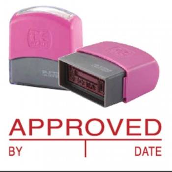 AE Flash Stamp - Approved, By, Date