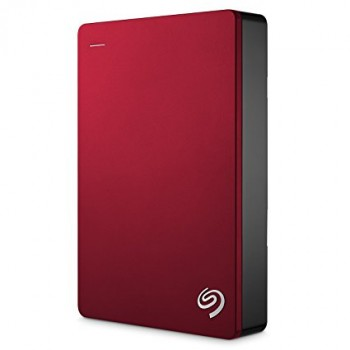 Seagate Backup Plus 4TB Portable Drive (Red)
