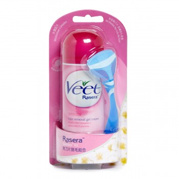 Veet Rasera Hair Removal Gel Cream Normal Skin 145ML