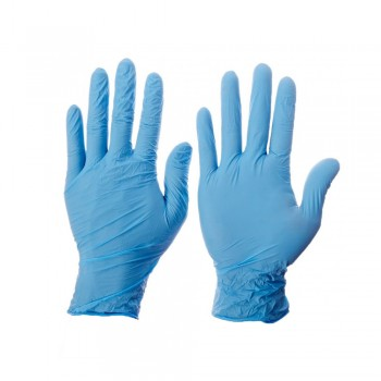 Kleenguard G10 Blue Nitrile Thin Mil Gloves - XL