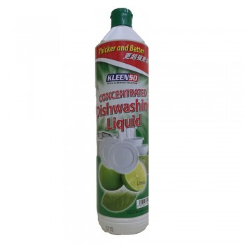 Kleenso Concentrated Lime Dishwash Liquid 900 ml