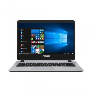 "Asus Vivobook A407U-ABV424T 14"" HD Laptop - i3-8130U, 4gb ddr4, 256gb ssd, Intel, W10, Grey"