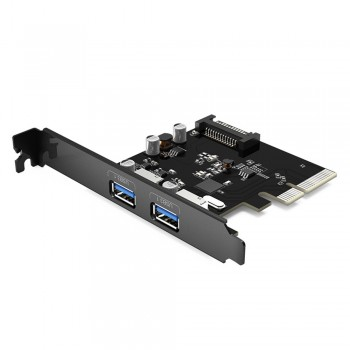 Orico PPA31-2P Superspeed+ 2 USB3.1 Port PCI-Express Card