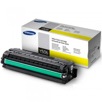 Samsung CLT-506S (1.5k) Toner Cartridge - Yellow (Item No : SG CLT-Y506S)