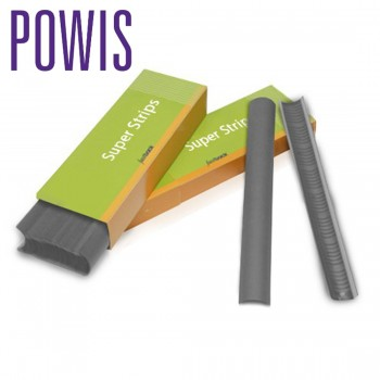 Powis FB20 Super-Strips A4 Narrow Dark Grey N402 For Fastback Binding Machines