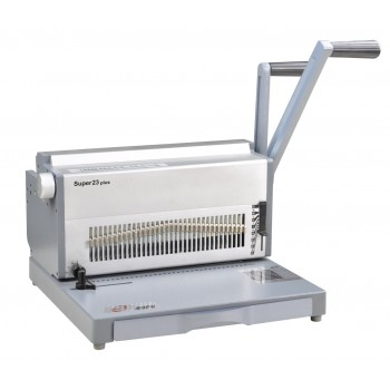 SUPU Super23 Plus Manual Wire Punching & Binding Machine Type 2:1 pitch