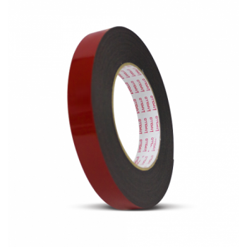 Apollo Heavy-Duty Double Sided PE Black Foam Tape - 18mm x 8m