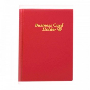 CBE 320E PVC Name Card Holder - Red
