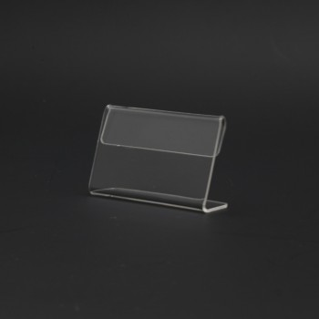 Acrylic T60 Card Stand - 60mm (W) x 35mm (H)