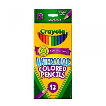 Crayola 12ct Water Color Pencils - 684302