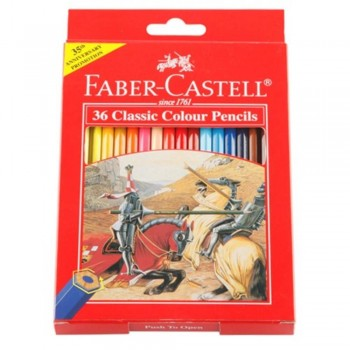 Faber Castell Classic Colouring Pencil-36L (Item No: B05-06) A1R2B194