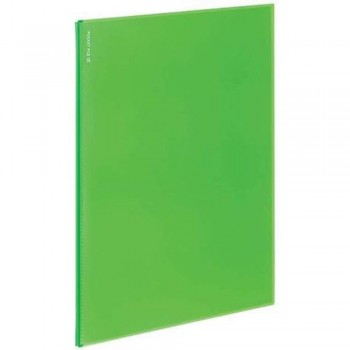 Kokuyo Novita Alpha 6 Pocket Refill - Light Green