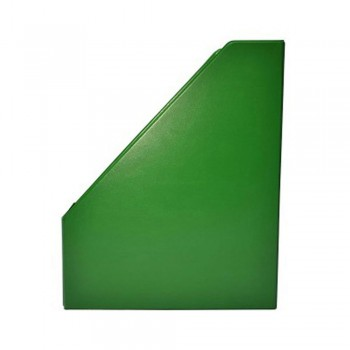 "3"" PVC Magazine Box File - Green"