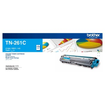 Brother TN-261 Cyan Toner Cartridge
