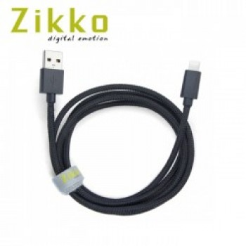 Zikko MFI Lightning Cable 1.5M (Black)
